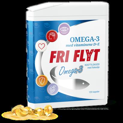 Fri Flyt Omega 3 | Vitamin D og E | VNP
